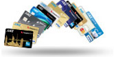 Range of ANZ cards