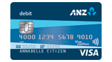 Visa debit card image