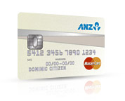 ANZ Low Rate MasterCard
