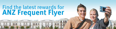 Find the latest rewards for ANZ Frequent Flyer